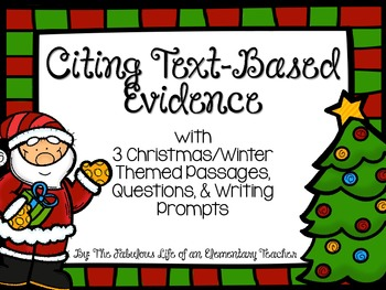 Citing Text-Based Evidence