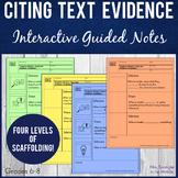 Citing Text Evidence & Analyzing Central Idea/Theme Pixano