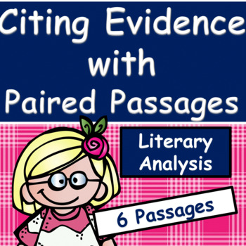Citing Text Evidence With Paired Passages