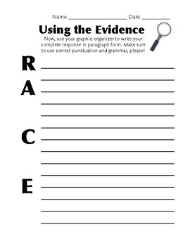 Citing Text Evidence in Reading Responses