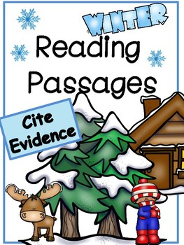 Citing Text Evidence in Winter Reading Passages