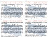 Citing the Text Exit Card *CCSS Aligned RL.6.1, RL.7.1, RL.8.1, RL.9-10.1