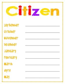 Citizen, Scholar, Terrific Kids Posters
