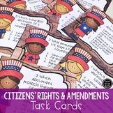 Citizen's Rights & Amendments Task Cards (SS5CG1, SS5CG2, SS5CG3)