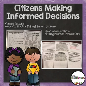 Citizens Making an Informed Decision