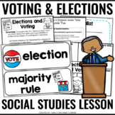 Voting and Elections (No Prep- Complete Lesson!)