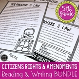 Citizens Rights & Amendments Reading Activity BUNDLE (SS5C