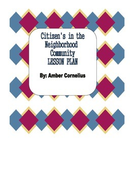 Citizens in the neighborhood community