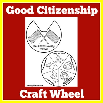 Citizenship Activity   Good Citizenship   Social Studies Activity