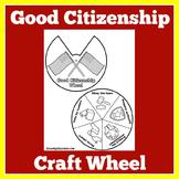 Being A Good Citizen | Good Citizenship Worksheet | Good Citizen Activity