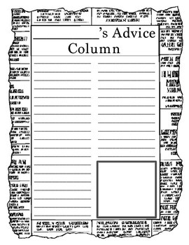 Citizenship Advice Column