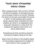 Citizenship Advice Column