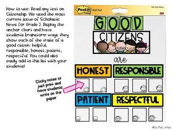 Citizenship Anchor Chart