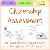 Citizenship Assessment