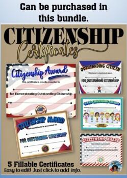 Citizenship Award #5