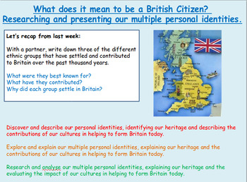 Citizenship: British Values: Diverse Britain