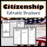 Citizenship Brochure SS.7.C.2.1 Civics & Government