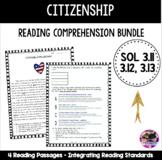 Citizenship Bundle (VA SOL 3.11, 3.12, and 3.13)