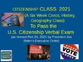 Citizenship Class Lesson 1 (of 6) to Pass the U.S. Citizenship Civics Test
