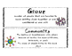 Citizenship / Communities Mini Unit - Social Studies, ELA