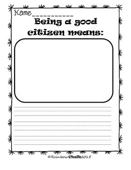 """Citizenship/Constitution Day """"We the Kids"""""""