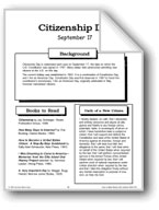 Citizenship Day: Making Books