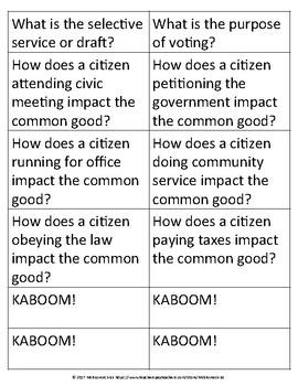 Citizenship KABOOM!