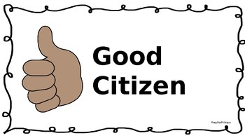 Citizenship Lesson Plan
