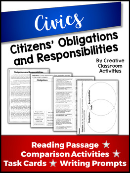 Citizenship - Obligations and Responsibilities of Citizens