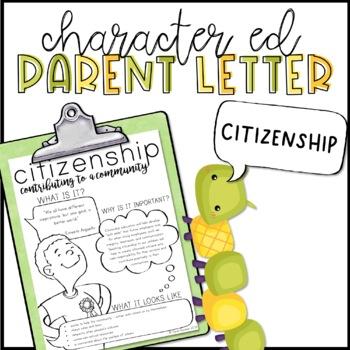 Citizenship Parent Letter