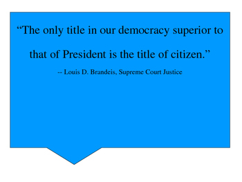 Citizenship Quotes Posters