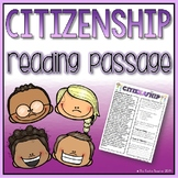 Citizenship Reading Passage