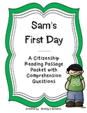 Citizenship Reading Passage Packet
