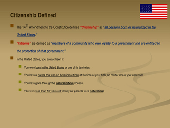 Citizenship - Requirements to Be a Good Citizen - Citizenship Simplified