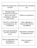 Citizenship Test/Arizona Civics Test Flashcards
