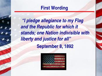 Citizenship - The Pledge of Allegiance