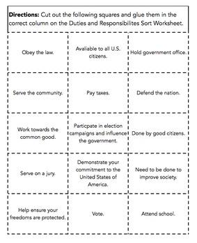 Citizenship Unit Bundle