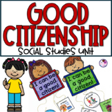 Citizenship Unit | Citizens, Rules and Laws, Leaders Includes Books & Activities