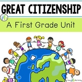 Citizenship Unit - First Grade (Community Building)