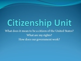 Citizenship Unit (Government) for 5th Grade Social Studies