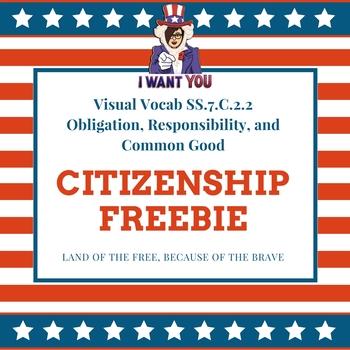 Citizenship Visual Vocab SS.7.C.2.2