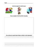 Citizenship Worksheet - Check for understanding