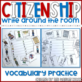 Citizenship Write Around the Room