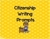 Citizenship Writing Prompts
