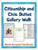 Citizenship and Civic Duties Gallery Walk Activity