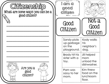 Citizenship and Government Interactive Notebook for 2nd ...