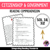 Citizenship and Government VA SOL 3.11 and 3.12