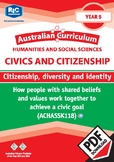 Civics and Citizenship: Citizenship, diversity and identity – Year 5
