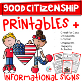 CITIZENSHIP - GOOD CITIZENSHIP - 1ST/2ND/3RD GRADE (TEKS & CCSS Aligned)