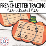Citrouilles de calligraphie (FRENCH Fall Letter Tracing Pumpkin Literacy Centre)